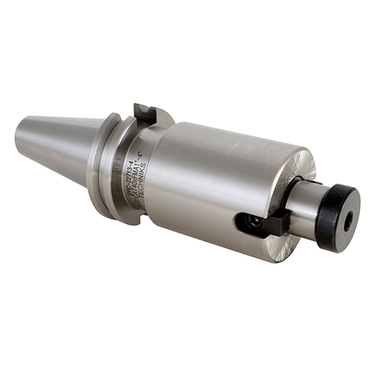 "Techniks BT40 3//4 Face Shell Mill Arbor 6.0/"" Length CAT40 AT3 GROUND 16615-6"