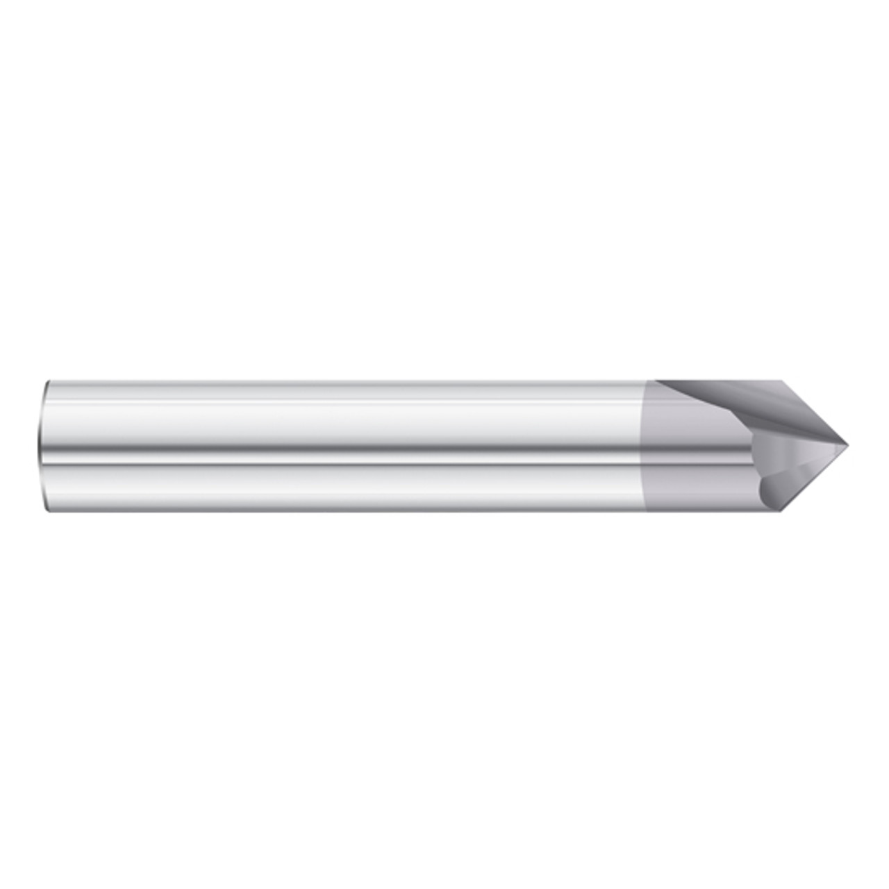 Fullerton Tool 35200 3//16 Diameter x 3//16 Shank x 3//4 LOC x 2-1//2 OAL 4 Flute FC20 Solid Carbide Radius End Mill
