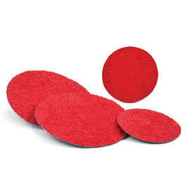 "Superior Abrasives 40333 | SHUR-KUT 2"" 80 Grit Type R Ceramic Grinding Aid Quick Change Disc"