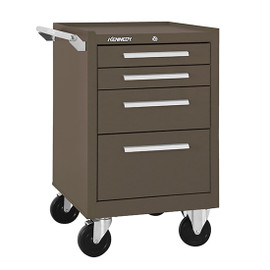 "Kennedy 21040B | 20-1/2"" 4-Drawer Roller Cabinet With Tubular High Security Lock"