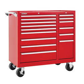 "Kennedy 315XR   39-3/8"" 15-Drawer Maintenance Cart"
