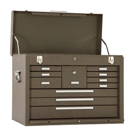 "Kennedy 3611B | 26-1/8"" 11-Drawer Brown Machinists' Chest"