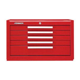 "Kennedy 2805XR | 29"" 5-Drawer Red Mechanics' Chest"