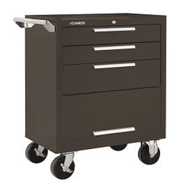 "Kennedy 273XB | 27"" 3-Drawer Roller Brown Cabinet"