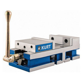 "Kurt 3600V | 6"" Jaw 6"" Opening Manual Machine Vise"