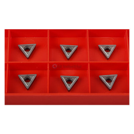 "All Industrial 20202 | Carbide Insert C6 Grade for 3/8"" Turning Tools Pack Of 10"
