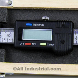 "All Industrial 30054 | 8"" X-Axis Digital Readout Scale Horizontal Bridgeport Mill Lathe DRO Output"