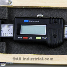 "All Industrial 30056 | 12"" X-Axis Digital Readout Scale Horizontal Bridgeport Mill Lathe DRO Output"