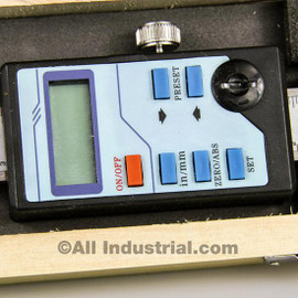 "All Industrial 30076 | 12"" Y-Axis Digital Readout Scale Vertical Bridgeport Mill Lathe DRO Output"