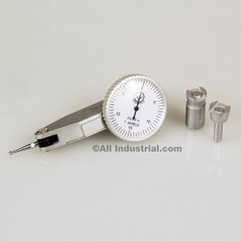 "All Industrial 52030 | .030"" Dial Test Indicator High Precision 0.0005"" Graduation 0-15-0 White Face"