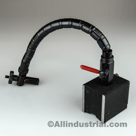 All Industrial 52508 | Flexible Arm/Shaft Magnetic Base Heavy Duty 176 Lbs Pull Indicator Holder