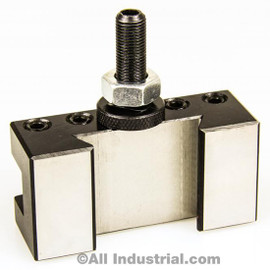 "All Industrial 47108 | AXA #1XL Oversize (5/8"") Quick Change Turning Facing Lathe Tool Post Holder"