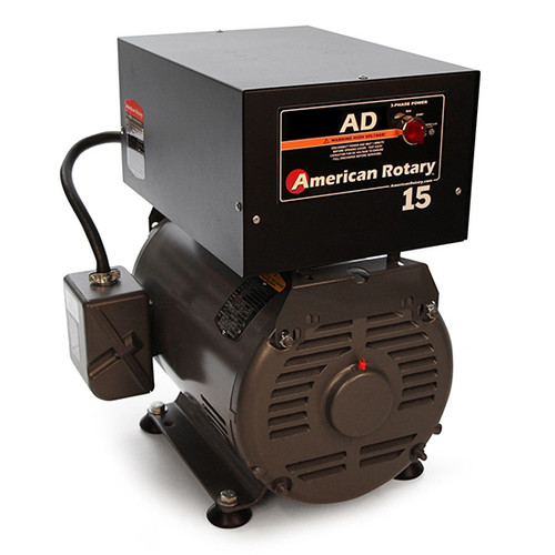 American Rotary AD15FM | 15HP 240V AD Series Floor Mount Rotary Phase Converter