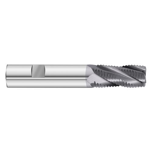Fullerton Tool 35488 1//2 Diameter x 1//2 Shank x 1-5//8 LOC x 4 OAL 4 Flute FC20 Solid Carbide Radius End Mill