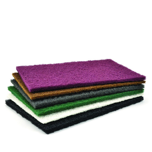 "Superior Abrasives 10475 | SHUR-BRITE 6"" x 9"" Ultra Fine Clean & Finish Ultra Fine Hand Pad"