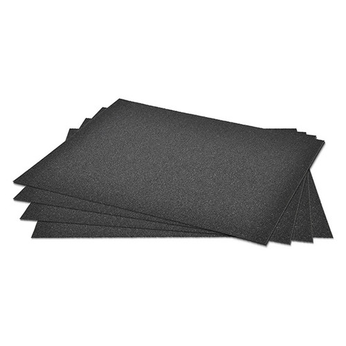 "Superior Abrasives 12158   SHUR-KUT 9"" x 11"" 80 Grit Silicon Carbide Waterproof Paper Sheet"