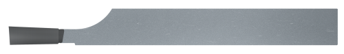"""Micro 100 CT-140   0.375"""" Width x 1-1/4"""" Projection CT Style Brazed Carbide Cut Off Tool"""