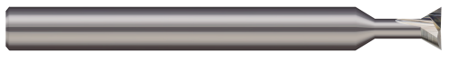 """Micro 100 DT-125-090-010   1/8"""" Diameter x 1-1/2"""" OAL x 90 Degree Included Angle Carbide Dovetail Cutter"""