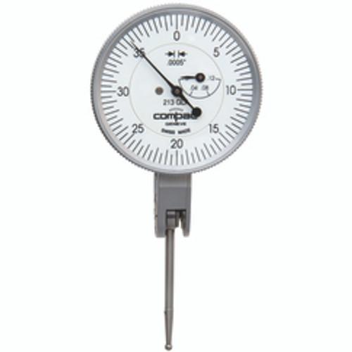 "Compac 213GLA | 1/8"" Range 0-40-0 0.0005"" Graduation Dial Drop Indicator"
