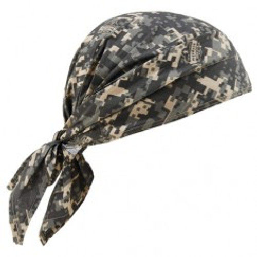 Ergodyne 12582 | Camouflage Cotton, PVA Cooling Triangle Hat