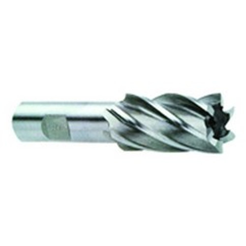 Long Length YG-1 EK10482 HSS Speed Freek End Mill with Neck 5-1//4 Length 42 Degree Helix 3//4 3 Flute Uncoated Finish Roughing for Aluminum T15