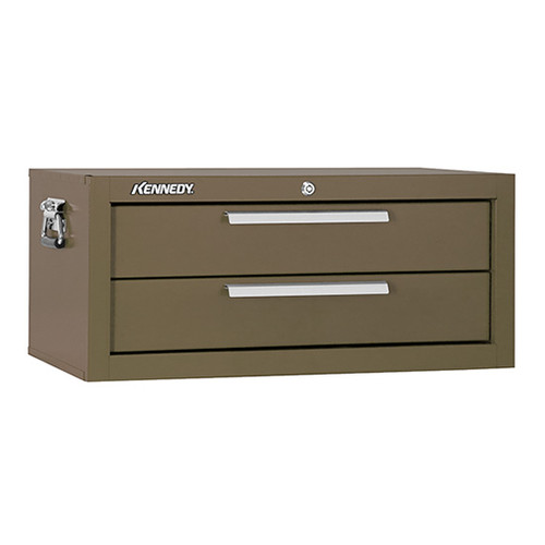 "Kennedy 2602B | 26-5/8"" 2-Drawer Brown Chest Base"