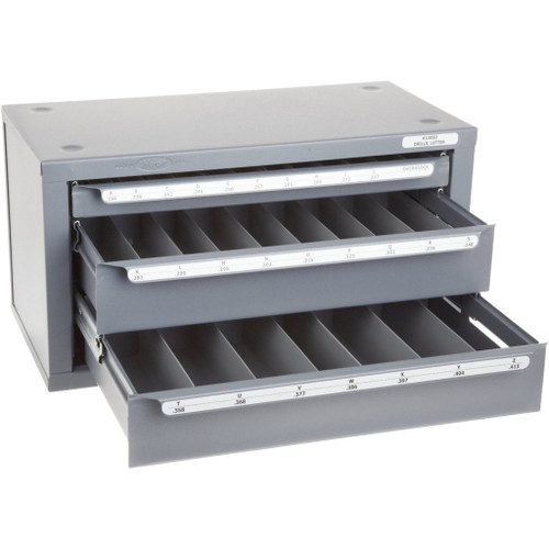 Huot 13050 | Letter Size Drill Dispenser Chest Cabinet Organizer Size A-Z