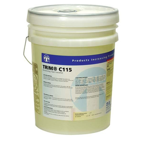 Master Fluid Solutions C115/5 | MASTER CHEMICAL Synthetic Coolant - MODEL : C115 Container Size: 5 Gallon