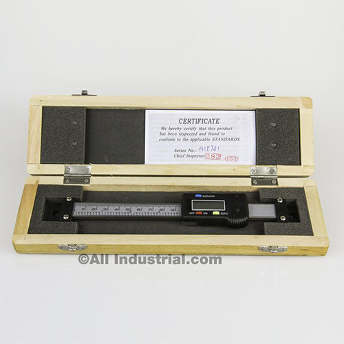 "All Industrial 30050 | 4"" X-Axis Digital Readout DRO Scale Horizontal for Bridgeport Mill Lathe"