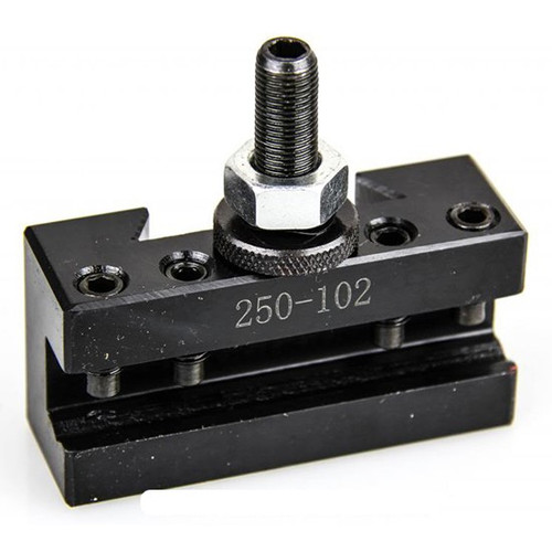 All Industrial 47103 | AXA #2 Quick Change Turning Facing & Boring CNC Tool Post Holder 250-102
