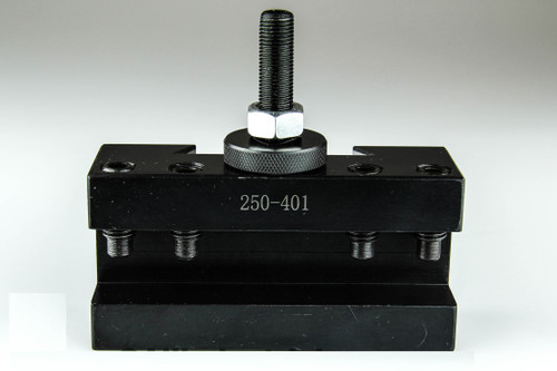 All Industrial 47402 | CA #1 Quick Change Turning & Facing Lathe Tool Post Holder (250-401)
