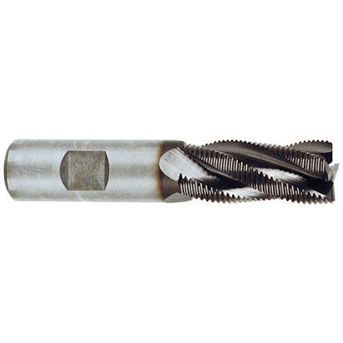 "YG1 E9990016TF | 1/4"" Diameter x 3/8"" Shank x 5/8"" LOC x 2-7/16"" OAL 3 Flute TiAlN Standard Powdered Roughing End Mill"