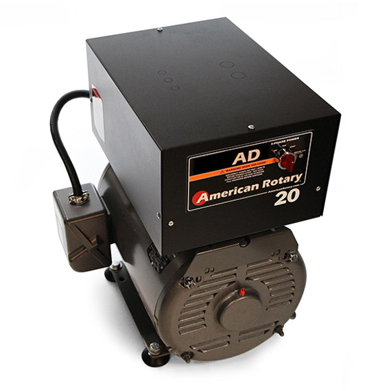 American Rotary AD20FM | 20HP 240V AD Series Floor Mount Rotary Phase Converter