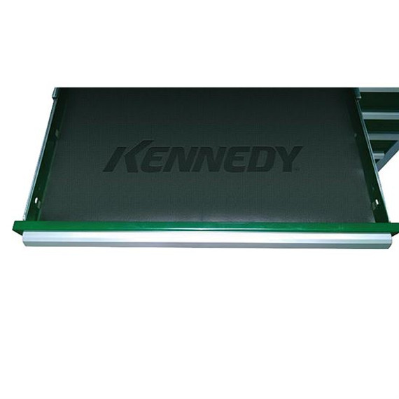 "Kennedy 84032 | 9-1/2"" x 18-3/8"" Black Drawer Liner"