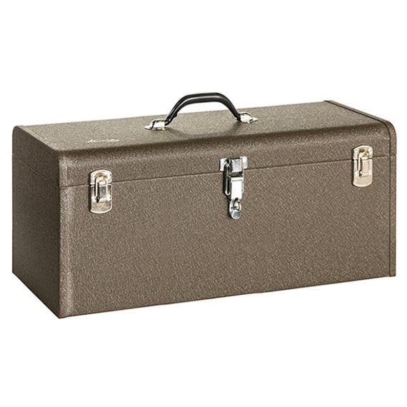 "Kennedy K24B   24-1/8 x 8-5/8"" Professional Brown Tool Box"
