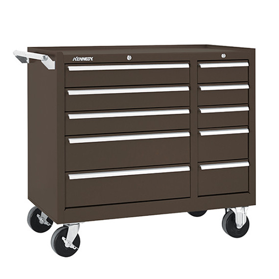 "Kennedy 310XB | 39-3/8"" 10-Drawer Maintenance Cart"