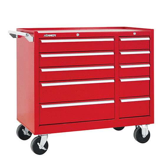 "Kennedy 310XR | 39-3/8"" 10-Drawer Maintenance Cart"