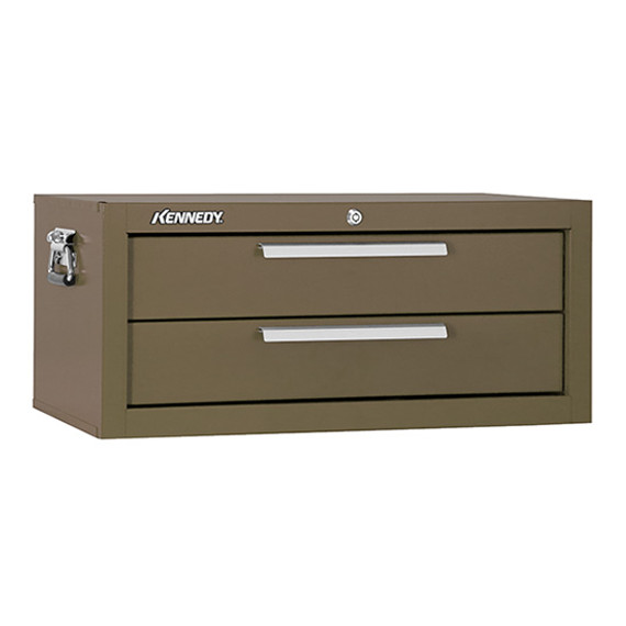 "Kennedy 2602B | 26-5/8"" 2-Drawer Brown Chest Base"