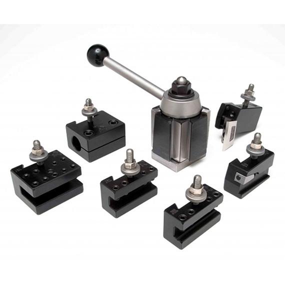 Aloris AXA-1-SET   7pc. Tool Set Tool Post & Holders