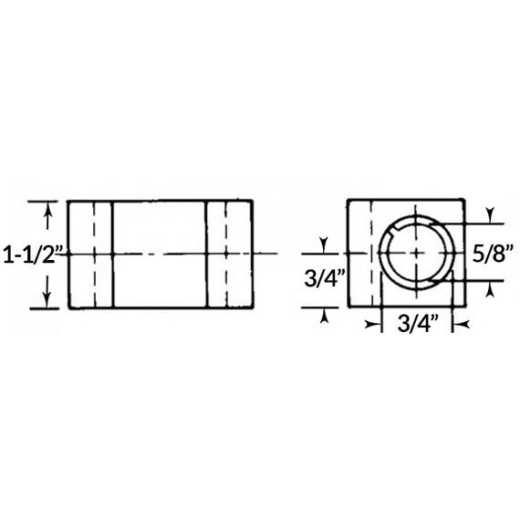 Aloris Tool AXA-4 Heavy Duty Boring Bar Holder