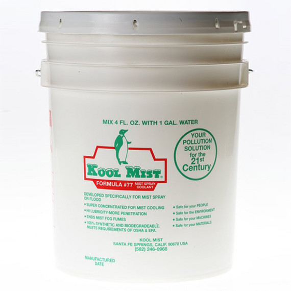 Kool Mist 77-5 | 5 Gallon Formula 77 Concentrated Coolant