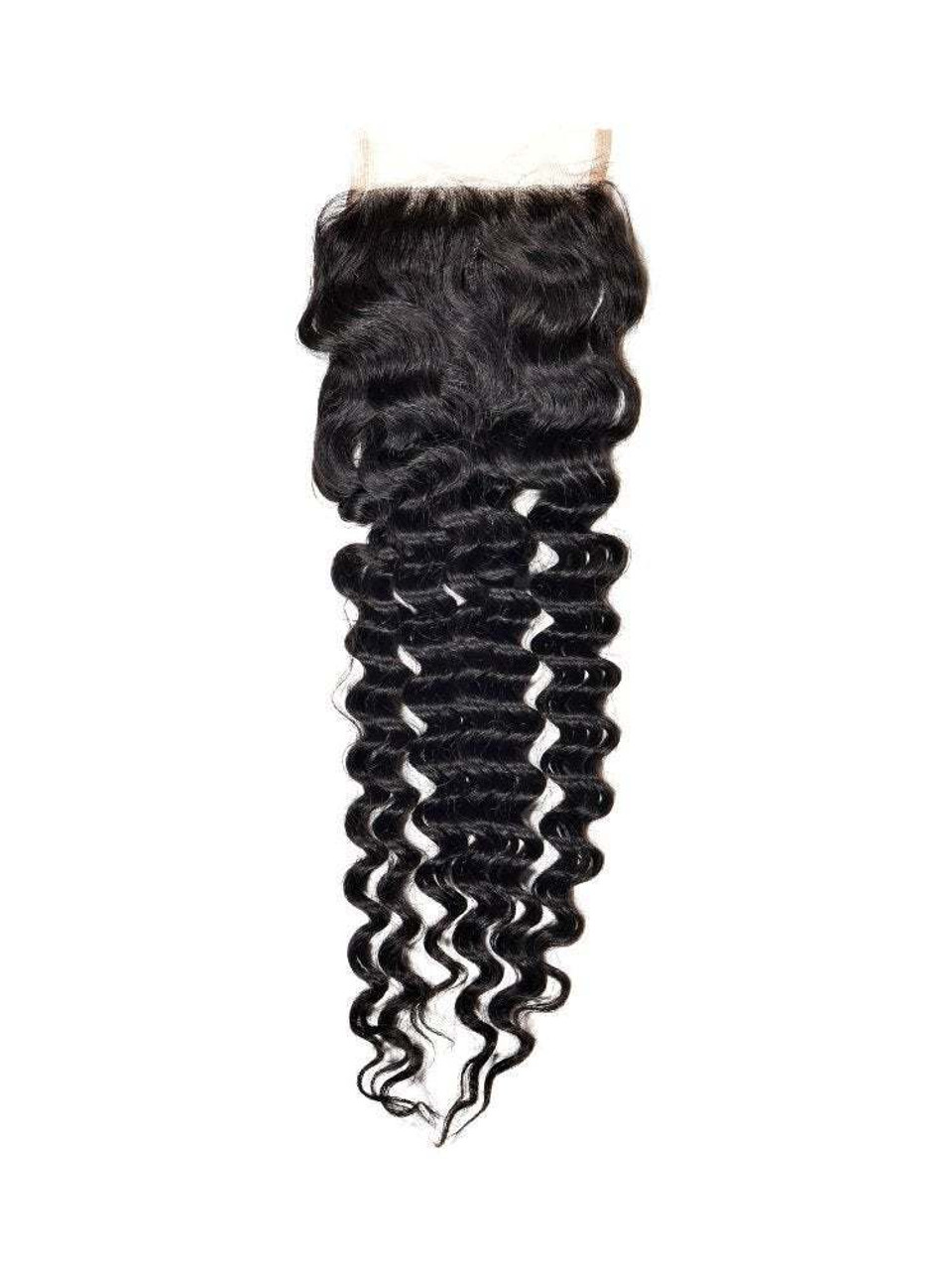 4 in by 4 in  closure deep wave.