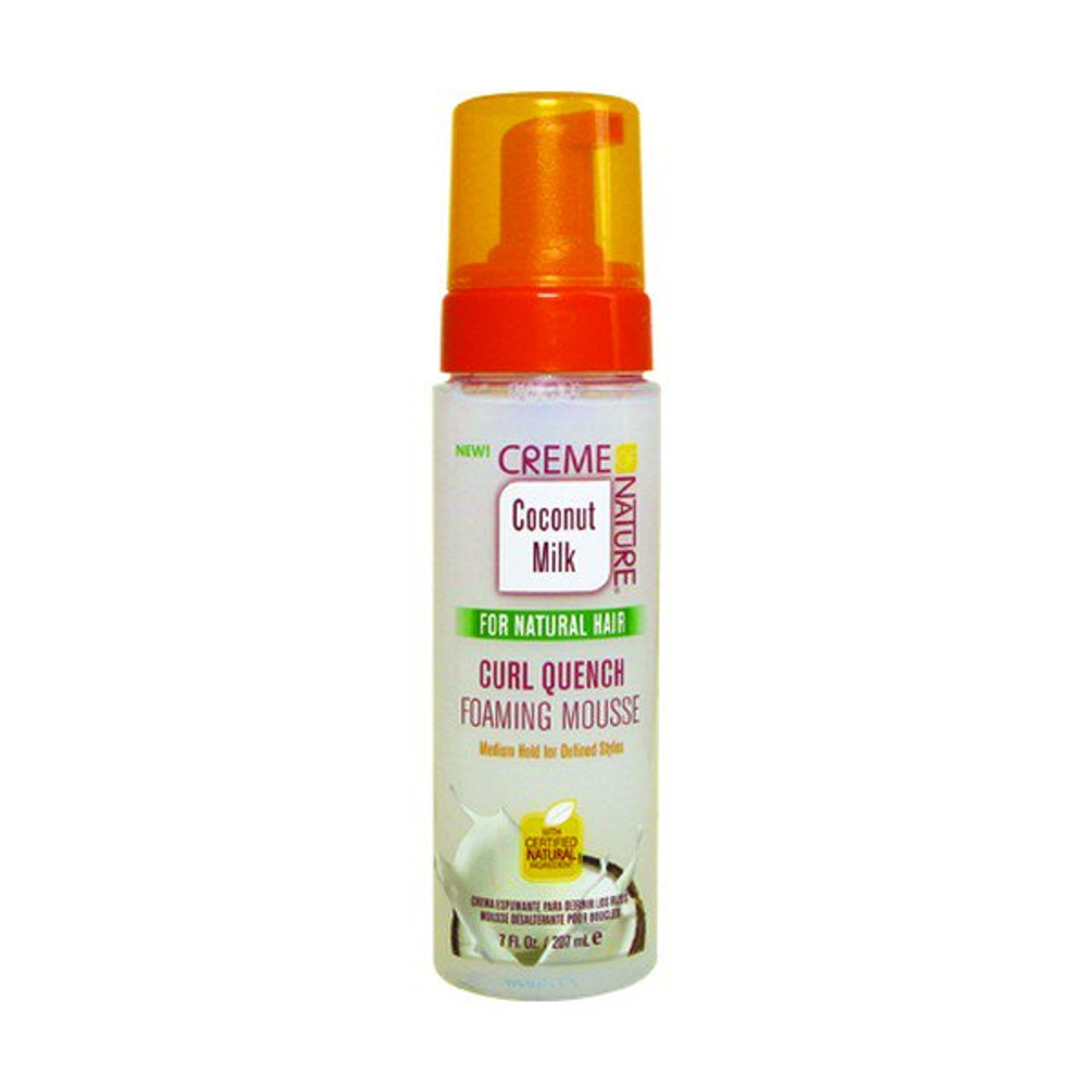 Creme of Nature Curl Quench Foaming Mousse 7 oz.