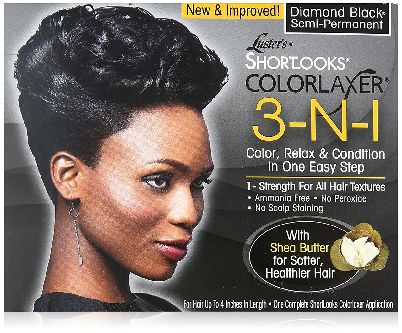Luster's Pink Shortlooks 3 In 1 Color Relaxer Kit 1 Application