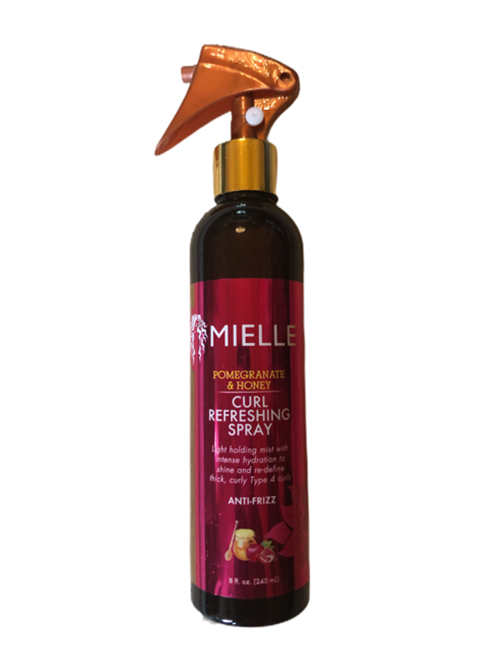 Mielle Pomegranate & Honey Curl Refreshing Spray 8 oz.