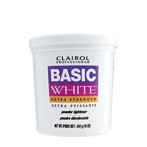 Basic White Extra Strength Powder lightener.