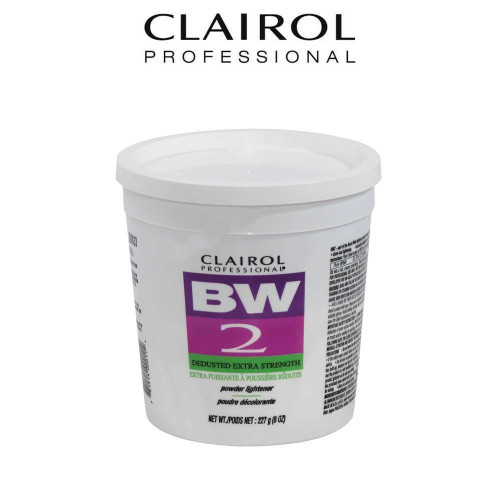 Clairol Basic White BW2 Dedusted Extra Strength.