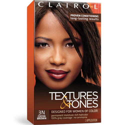 Clairol Textures & Tones 3N Cocoa Brown.