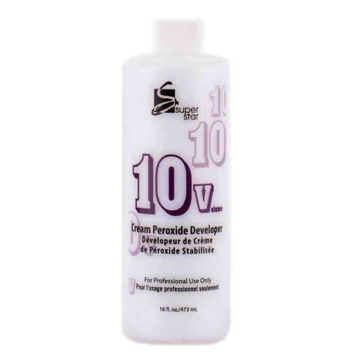 Super Star Cream Peroxide Developer 10 Volume 16 oz.