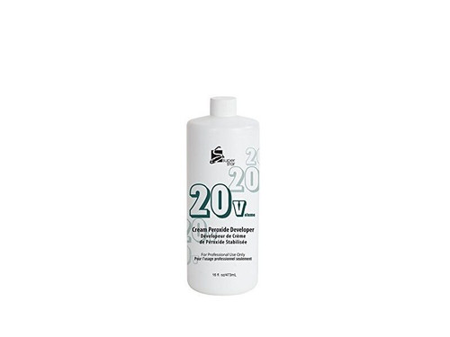 Super Star Cream Peroxide Developer 20 Volume 16 oz.